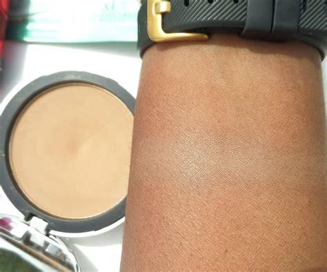 elf beautifully bare sheer tint finishing powder  mediumdark review