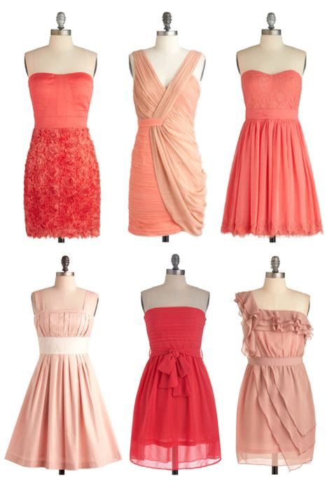 Mismatched Bridesmaid Dresses By ModCloth