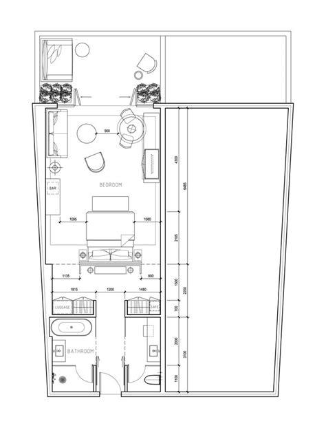 plan chambre hotel les 22 meilleures images du tableau floor plans sur