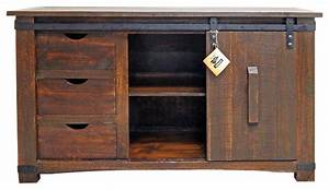 60quot barn door buffet buffets and sideboards by million With buffet with barn doors