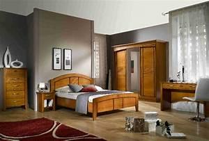 deco chambre meuble merisier With deco cuisine pour meuble merisier