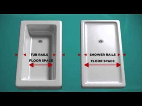 bath fitter tub  shower conversion youtube
