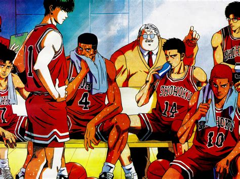 Slam Dunk Anime Wallpaper - 10 slam dunk hd wallpapers background images wallpaper