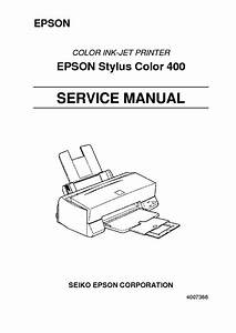 Epson Stylus Photo Rx585 595 610 Service Manual Download