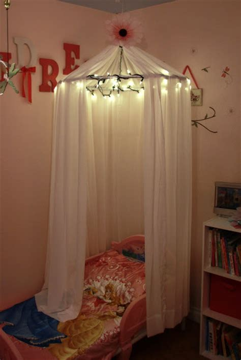 bed canopy with lights 10 beautiful diy canopy beds