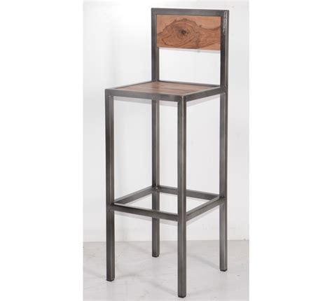 canape en bois et tissu tabouret de bar industriel en métal et bois 39 industry quot 6748