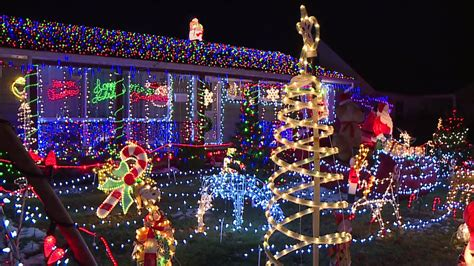 speedway familys amazing christmas lights display