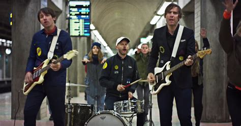 Watch Peter Bjorn And John Play Human Dominos In New Video
