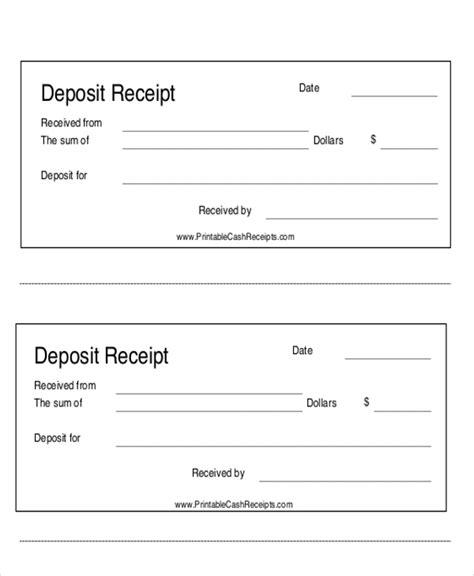 down payment receipt form 7 payment receipt forms sle templates