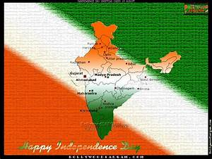 Independence Da... India Map Quotes