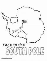 Coloring Pages History Pole South Myhomeschoolprintables Mystery Volume Printables Colouring sketch template