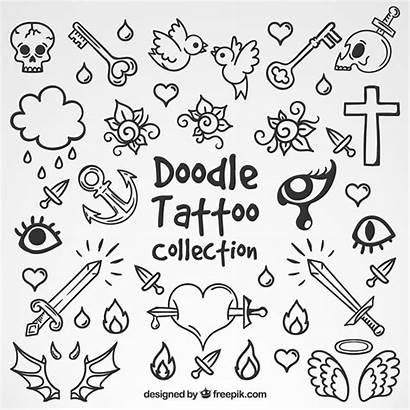 Doodle Tattoos Vector Tattoo Selection Freepik Heart