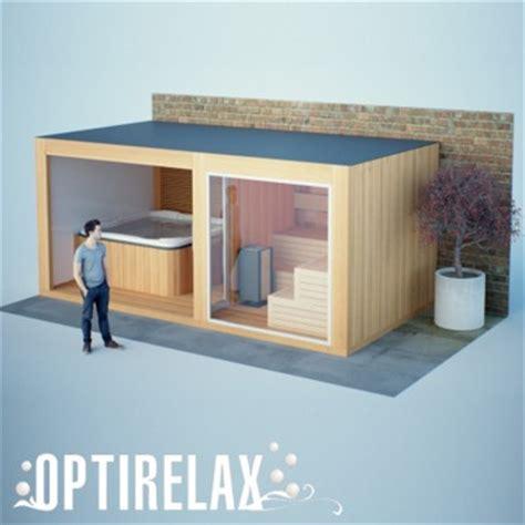 Gartenhaus Sauna Whirlpool by Gartensauna Au 223 Ensauna Optirelax 174 Kaufen Shop