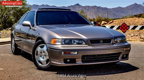 1994 acura vigor youtube