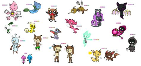 Fan-made Fairy Type Pokemon By Joltiklover On Deviantart