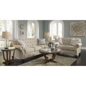 Milari Linen Queen Sofa Sleeper by Milari Linen Living Room Set From Ashley 1300038 35