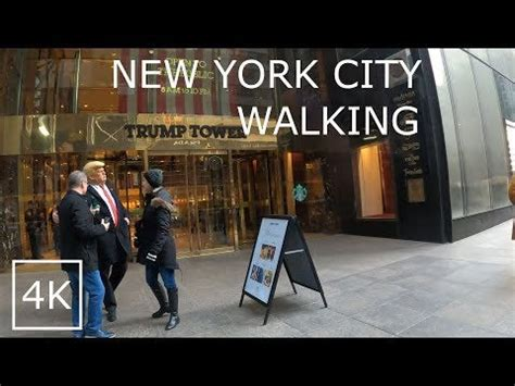 Coronavirus Covid-19 in New York City. Walking around to ...