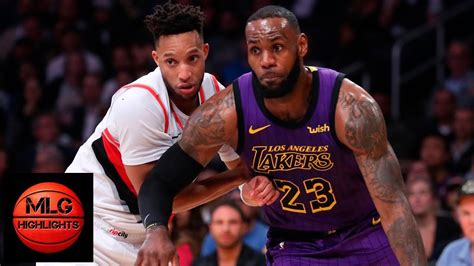 los angeles lakers  portland trail blazers full game