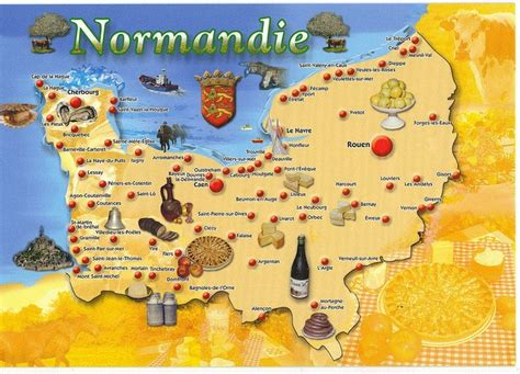 map   map normandie    normandy
