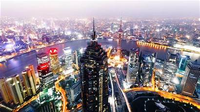 Shanghai China Wallpapers 4k Cainiao Network Asia
