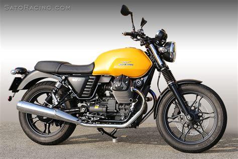Moto Guzzi V7 Ii Modification by Sato Racing Rear Sets Moto Guzzi V7 Ii 15 16