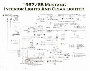 I Have A 1968 Mustang Coupe  Need Schematic On Under Dash Wiring  The Dome Light Doesn U0026 39 T Work