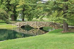 Stone, Footbridge, Stock, Photo, Image, Of, Nature, Fall