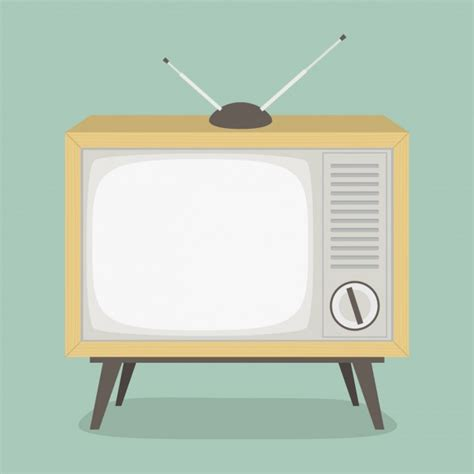 tv vector template vintage television design vector free download
