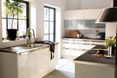 fa軋des meubles cuisine meuble cuisine ikea blanc laqué cuisine en image