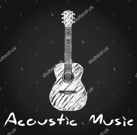guitar logos  psd eps ai illustrator format