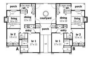 Decorative Multi Family House Plans Apartment by Henderson Place Duplex Home Plan 020d 0025 House Plans
