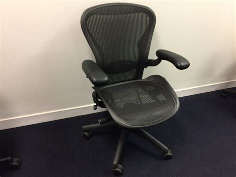 herman miller aeron chair new used office furniture glasgow scotland
