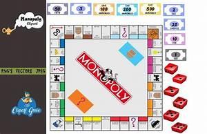 Diy Monopoly Monopoly Board Monopoly Clipart Monopoly