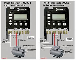 Intermatic 3 Circuit Timer Wiring Diagram