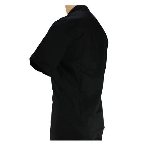 veste de cuisine homme veste de cuisine noir manche courte et légère pour homme