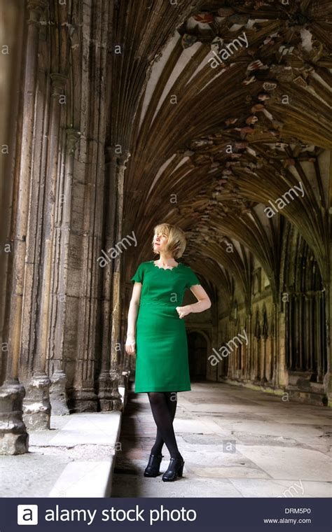 Portrait of Dr Lucy Worsley, historian, curator, writer