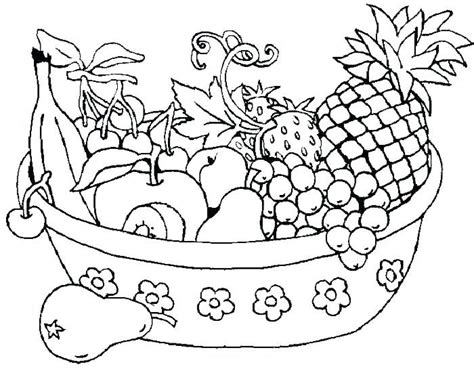 fruits  vegetable coloring pages coloring pages fruit
