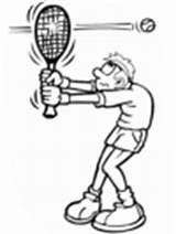 Coloring Tennis Racket Broken sketch template