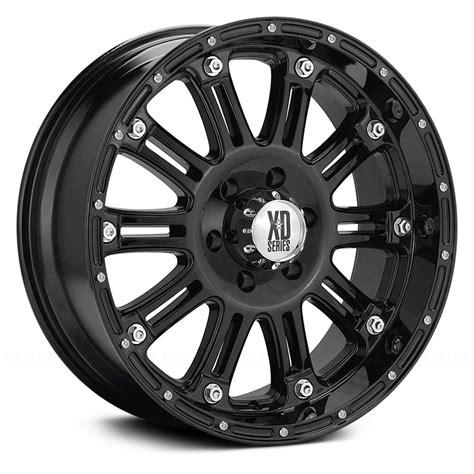 black wheels xd series hoss wheels gloss black rims
