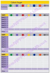 fix 21 day meal plan template 21 day fix nutrition plan With portion control template