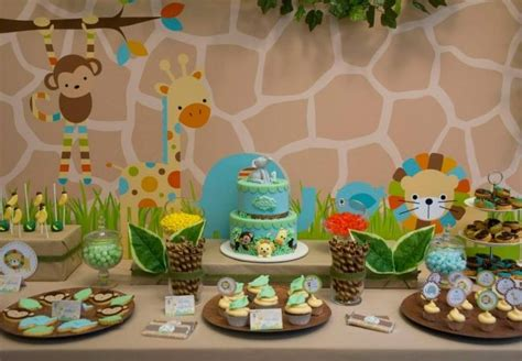 abc themed 1st birthday party spaceships and laser beams boys birthday jungle themed birthday party