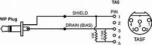 Lectrosonics Mcata5muwp Cable