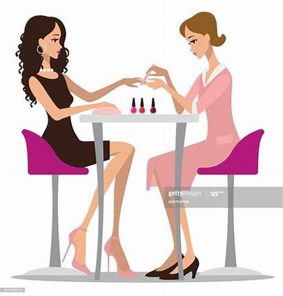 Manicure Woman Nails Making Land Nektaria Danyela