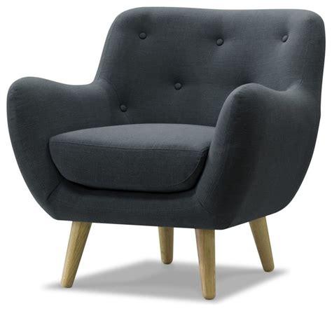 meuble alinea cuisine poppy meuble fauteuil esprit seventies en tissu gris