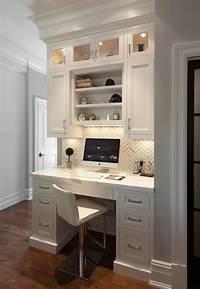 built in desk Built In Kitchen Desk Design Ideas