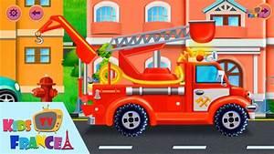 Jeux De Voiture City : jeux de voiture pour petit camion de pompier pour enfant pompier dessin anime francais youtube ~ Medecine-chirurgie-esthetiques.com Avis de Voitures