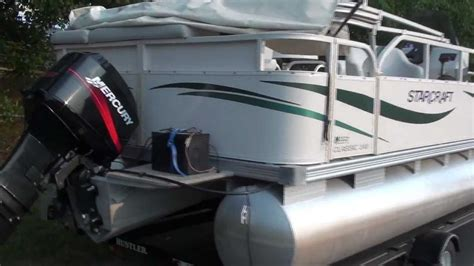Used Pontoon Boats Without Motor by For Sale 2005 Starcraft 24ft Pontoon Boat Mercury Motor