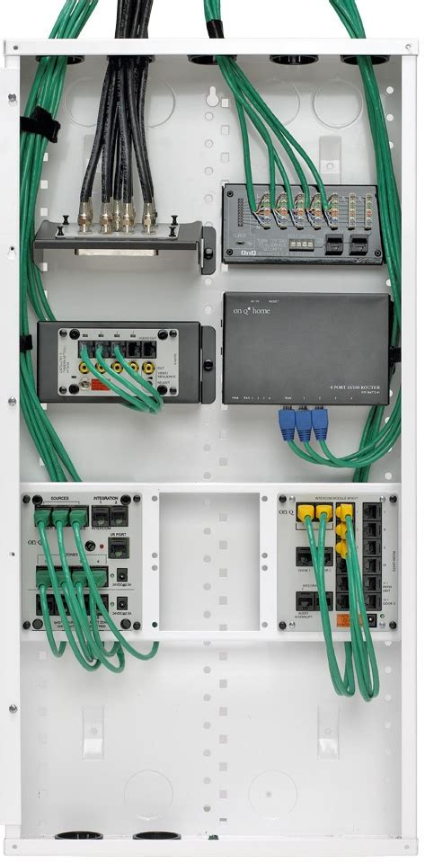 Onq Home Wiring by Onq Wiring Panel With Optional Modules In 2019 Smart