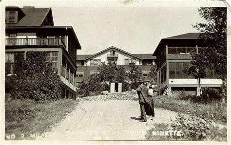 postcard    military pavilion sanatorium