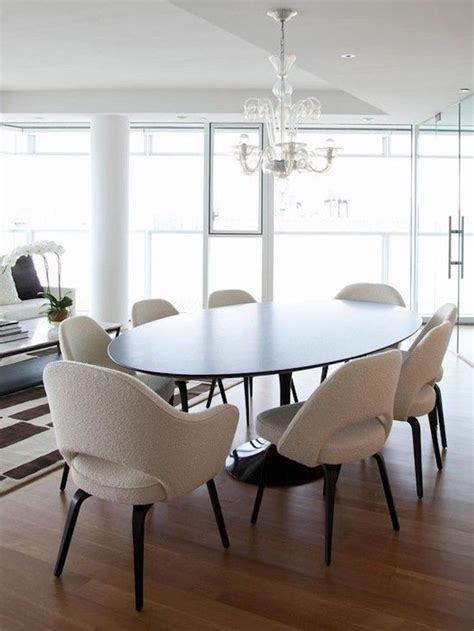oval kitchen table with bench best 25 oval dining tables ideas on white